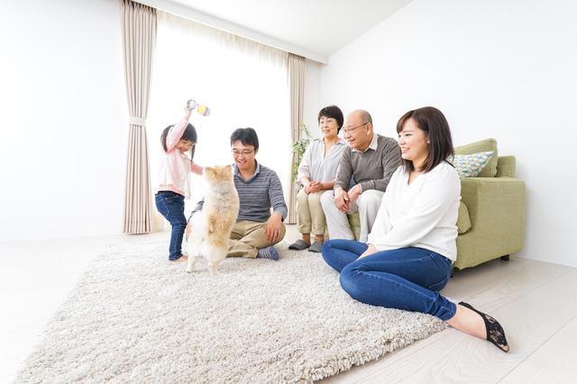 円満相続家族イメージ